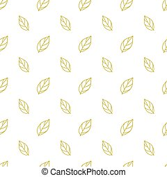 seamless pattern with autumn leaves.