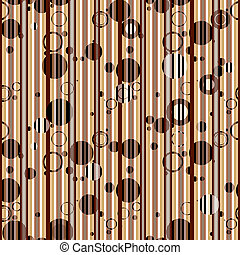 Seamless pattern with balls
