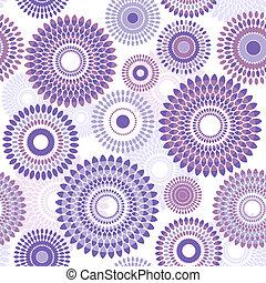 Seamless pattern with balls