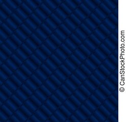 Seamless pattern with blue shapes.