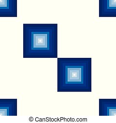 seamless pattern with blue squares vector