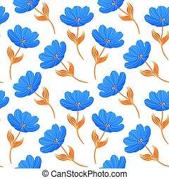 blue tulips on white background.