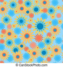 Seamless pattern with bright colors - Seamless pattern with...