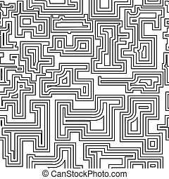 Seamless pattern with broken lines