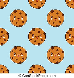 chocolate chip cookie packaging vector stock of chocolate chip
