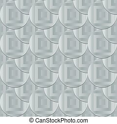 pattern - seamless pattern with circle and square shapes