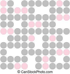 seamless pattern with circlesgeometric seamless pattern