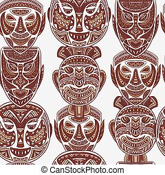 collection of Tribal mask