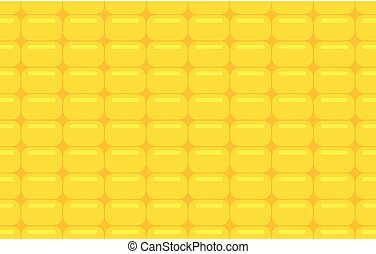 Seamless pattern with corn texture