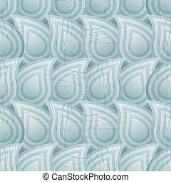 Seamless pattern with drops of liquid