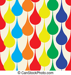 Seamless pattern with drops. Vector illustration