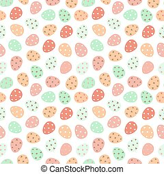 seamless pattern with easter eggs. easter pattern. Design for textiles, packaging, wrappers, greeting. Vector illustration