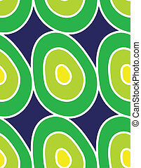 Seamless pattern with eggs
