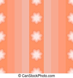 Seamless pattern with elements of flowers.