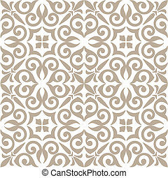 pattern with floral ornaments