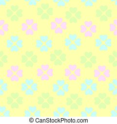 Seamless pattern with flower of hearts. Background of hearts on Valentine Day. Good for textiles, interior design, for book design, website background.