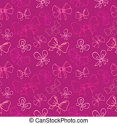 seamless pattern with gift bow