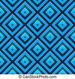 Seamless pattern with glossy squares