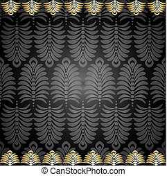 seamless pattern with gold