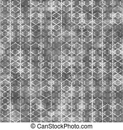 Seamless pattern with hexagon shapes