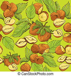 Seamless pattern with highly