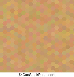 Seamless pattern with honeycombs
