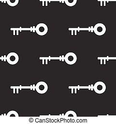 seamless pattern with key