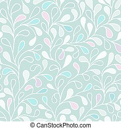 Seamless pattern with leafs - leaves vector seamless...