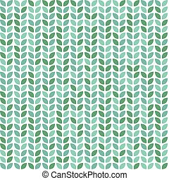 Seamless pattern with leaves. Decorative print