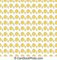 Seamless pattern with lemonade in p