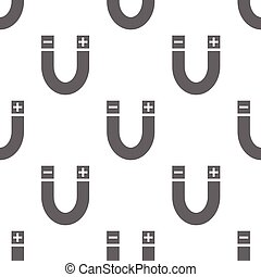 seamless pattern with magnet