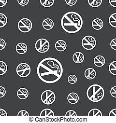 seamless pattern with no smoking