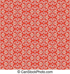 Seamless pattern with ornament in Chinese style