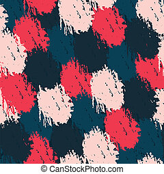 seamless pattern with paint effect