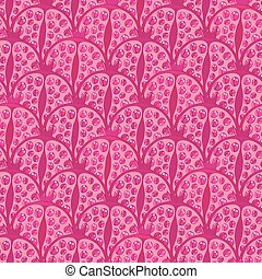 seamless pattern with pomegranates