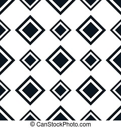 Seamless pattern with rhombus - abstract geometric square...