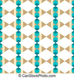 Seamless pattern with rhombuses on a white background.