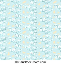 Seamless pattern with silhouette pants