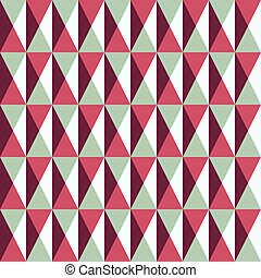 seamless pattern with squares and triangles, vector illustration