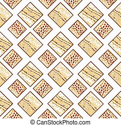 seamless pattern with squares of leopard skin