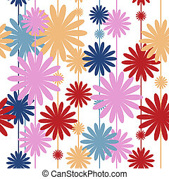 Seamless pattern with stylish colors