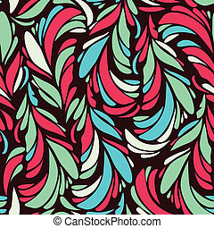 Seamless pattern with stylized scale
