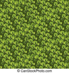 seamless pattern with the leaves