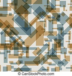 Seamless pattern with transparent rectangles
