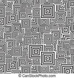 seamless patterns Black white