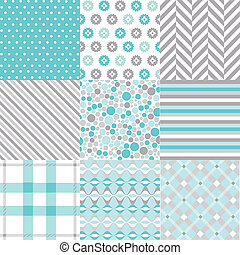 seamless patterns fabric texture - seamless patterns with...