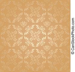 Seamless patterns, gold