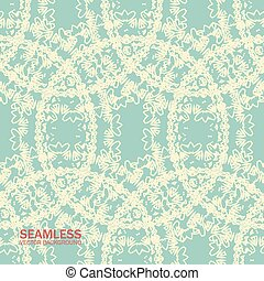 Seamless pattern circles with grunge effect. 10 eps