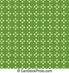 Seamless patttern with polks dot