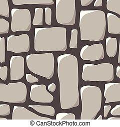 seamless, pavimento, guijarro, pattern.